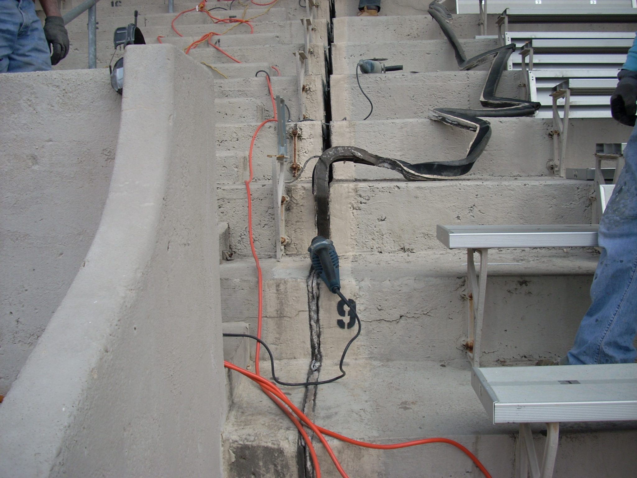 Franklin Field Expansion Joint Repairs